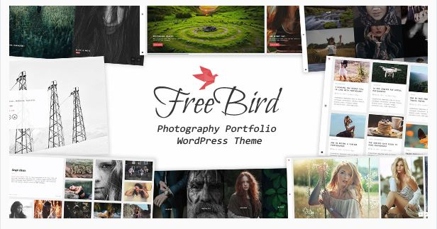 FreeBird - Photography Portfolio WordPress Theme