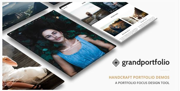 Grand Portfolio Responsive Portfolio WordPress Theme