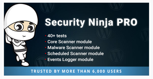 Security Ninja PRO Premium WordPress Plugin