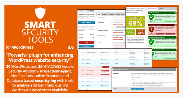 Smart Security Tools WordPress Plugin