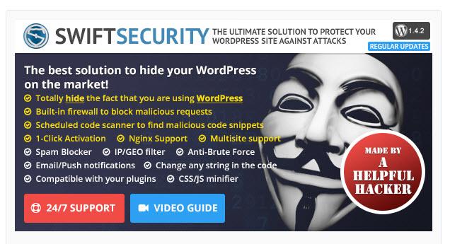 Swift Security Bundle - Premium WordPress Plugin