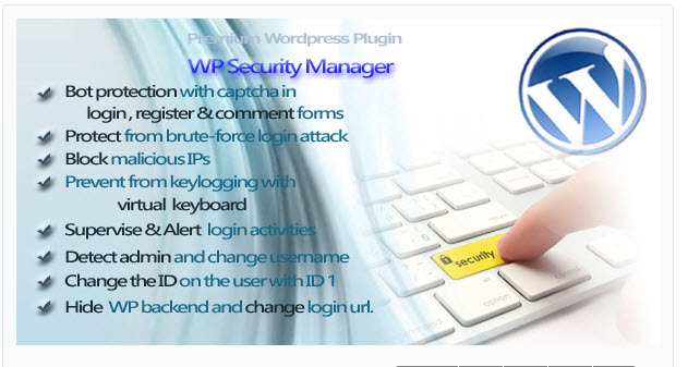 WP Security Manager WordPress Plugin